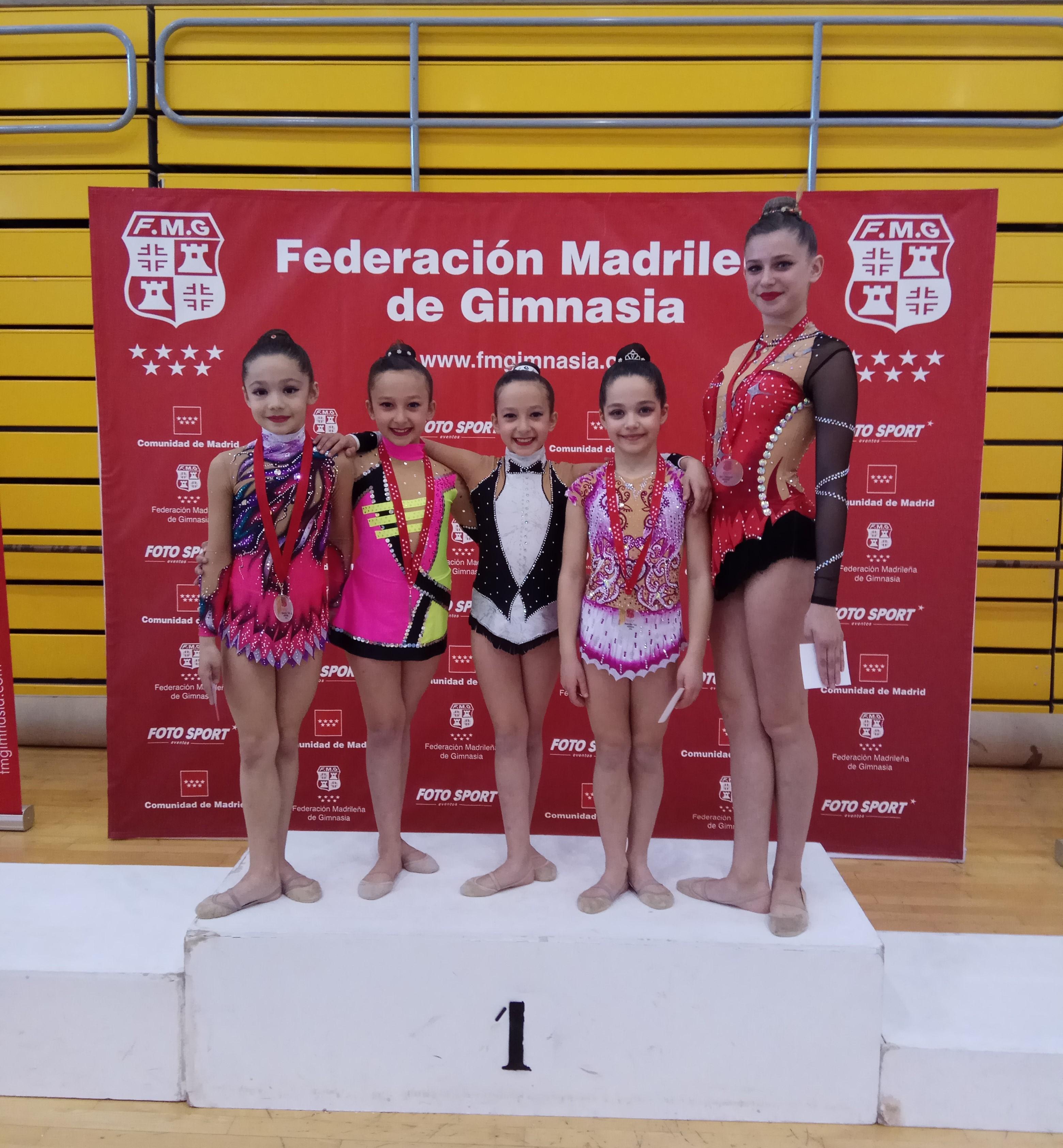 Las gimnastas de CGR Velilla obtuvieron muy buenos resultados en la primera fase del Torneo Federación