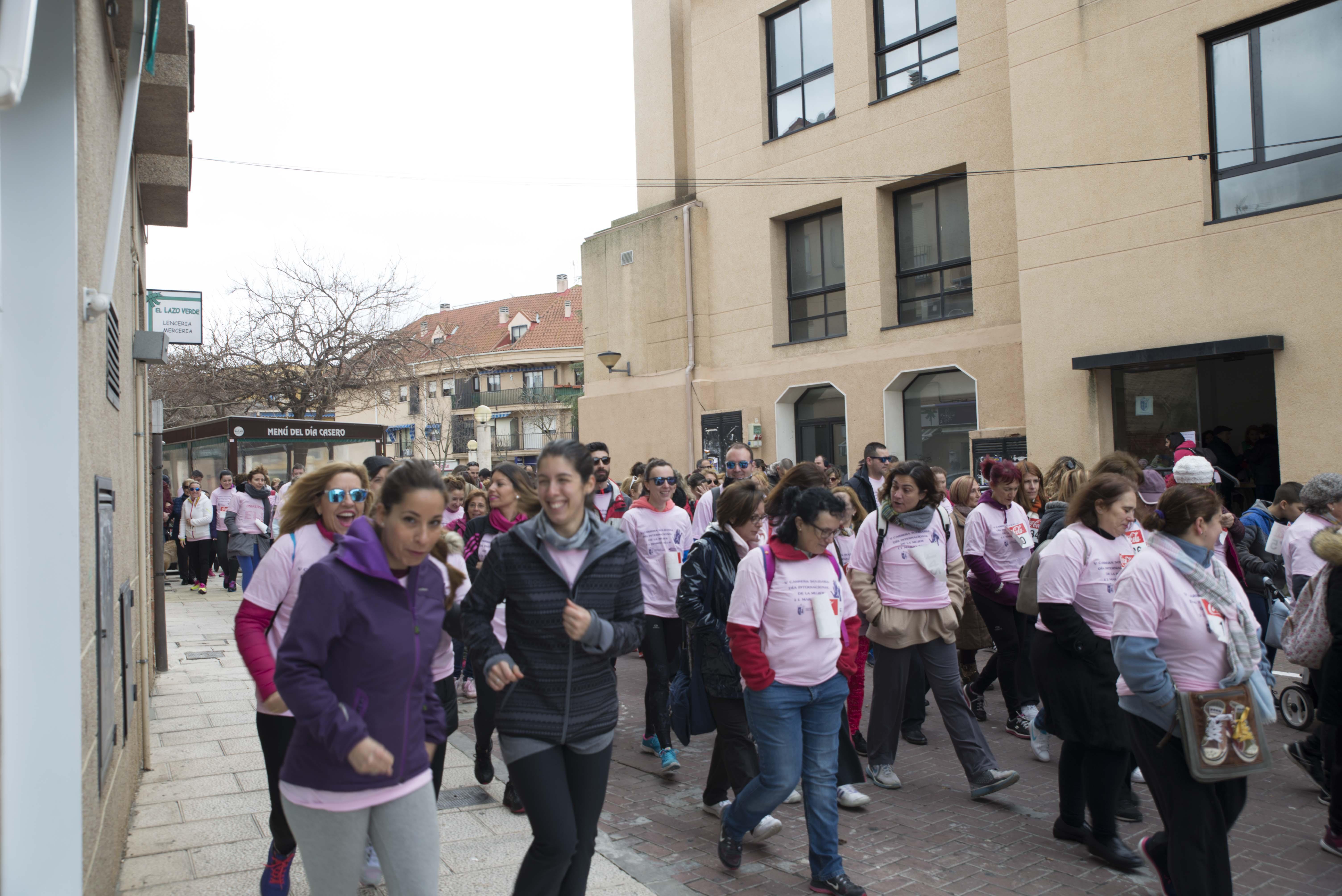 VI Carrera solidaria Día Internacional de la Mujer
