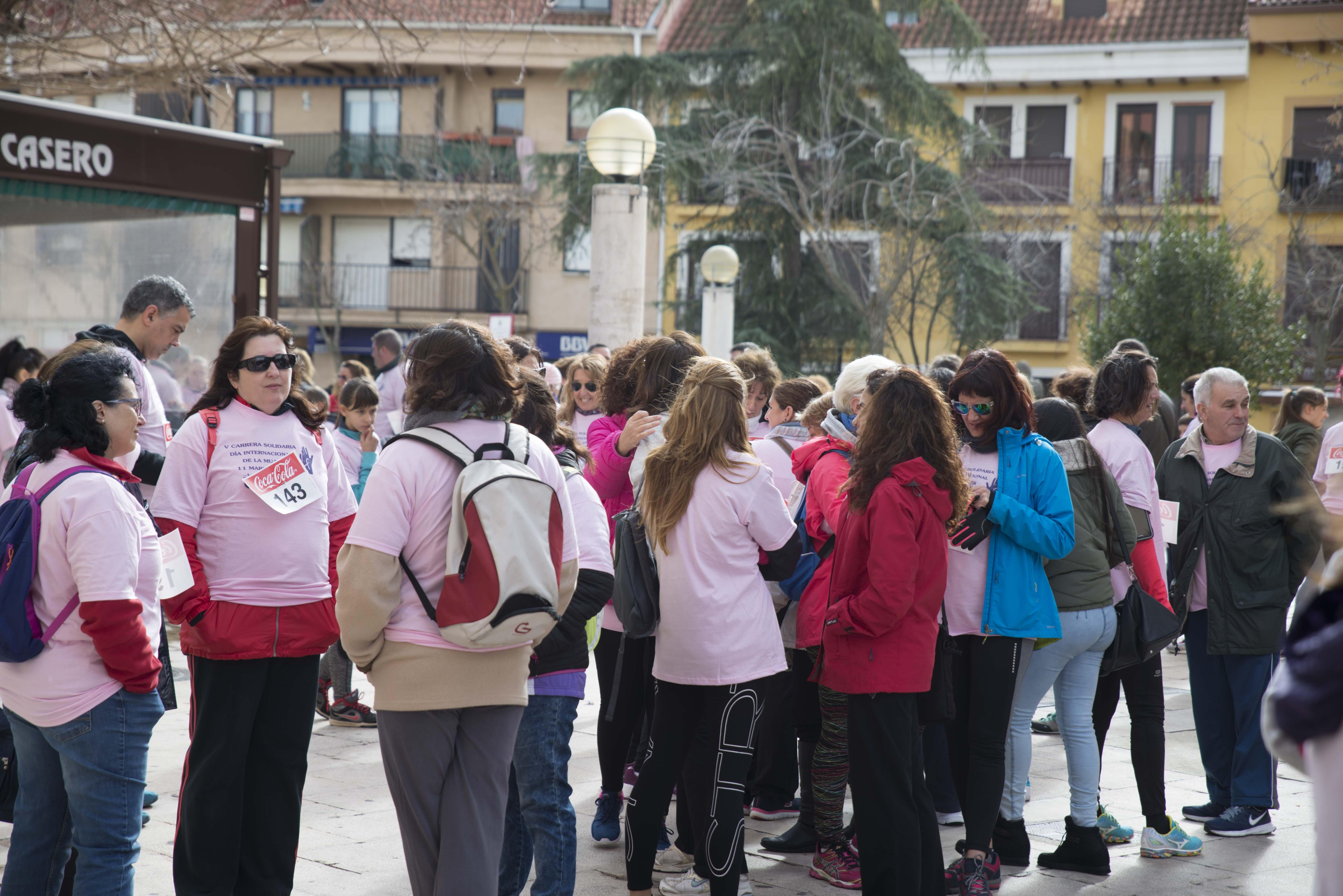 El domingo 11 de marzo se celebró en Velilla la V Carrera de la Mujer