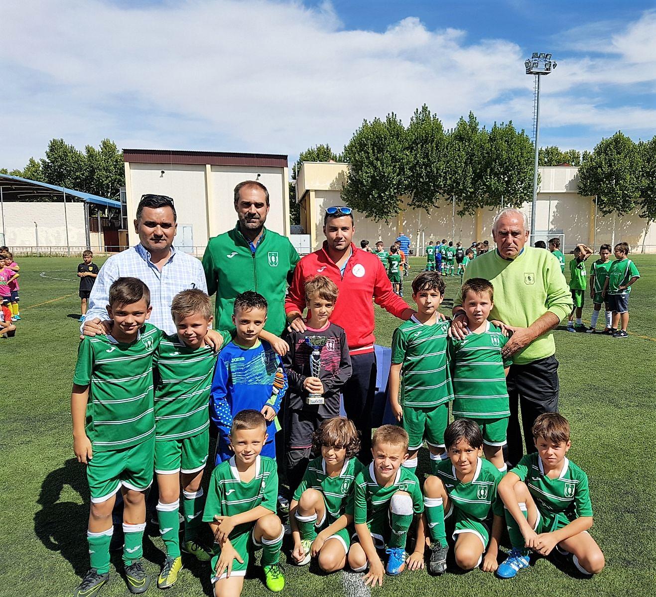Celebración del Torneo Fútbol 7 en las categorías prebenjamín y benjamín Fiestas 2017