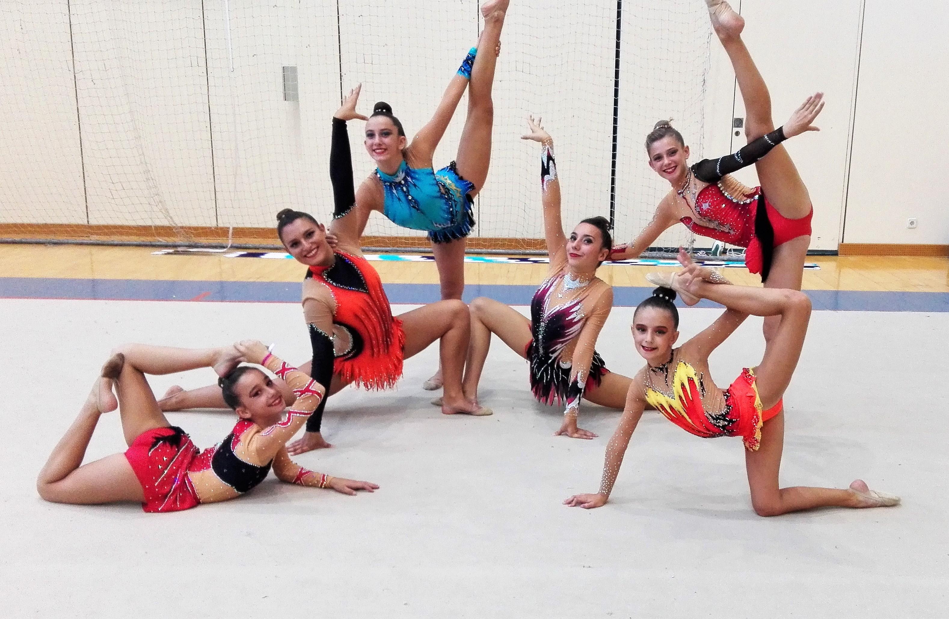 El CGR Velilla clasifica a tres de sus gimnastas para el Campeonato de España