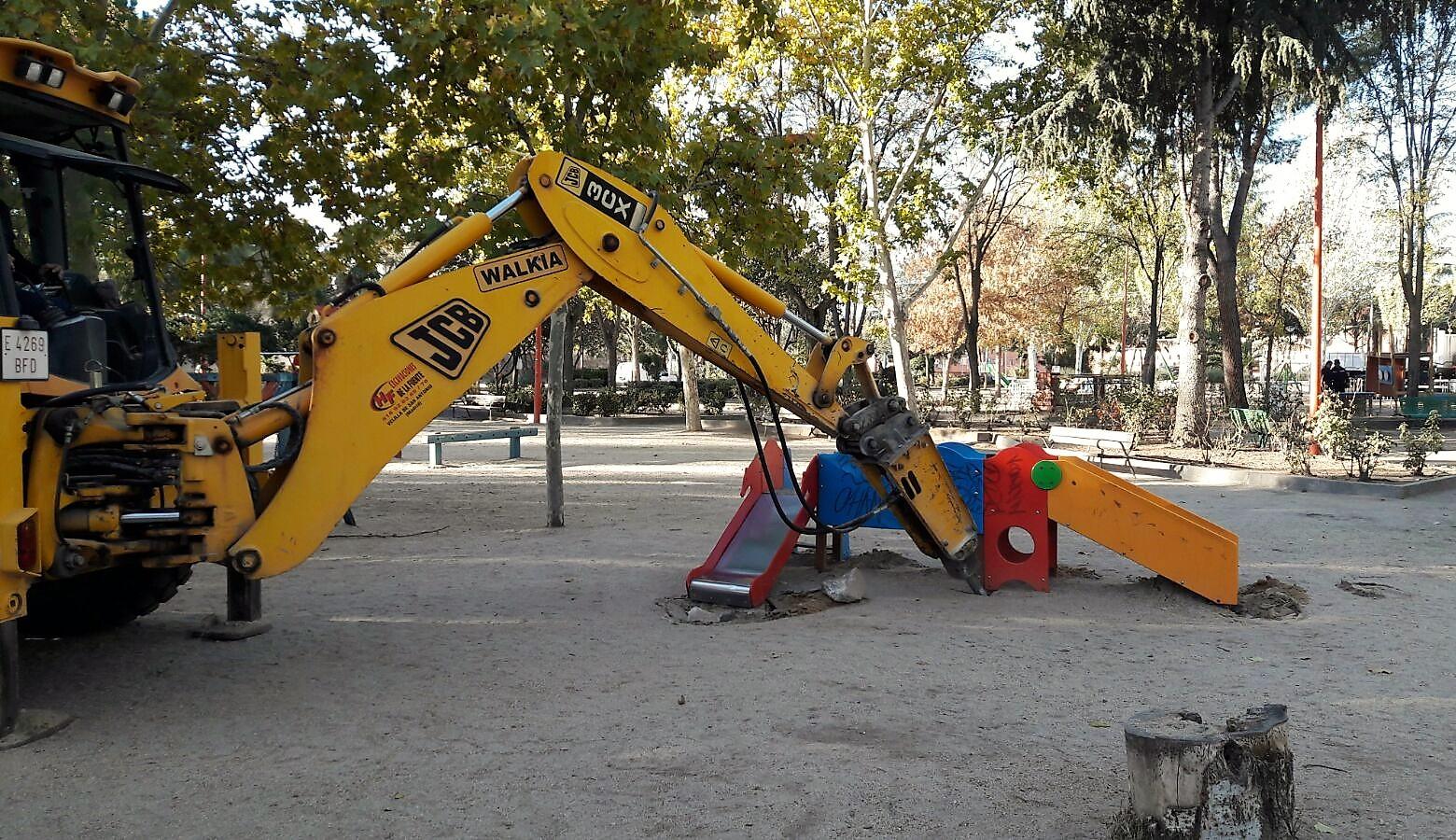 Comienzan las obras de remodelación del parque Catalina Muñoz