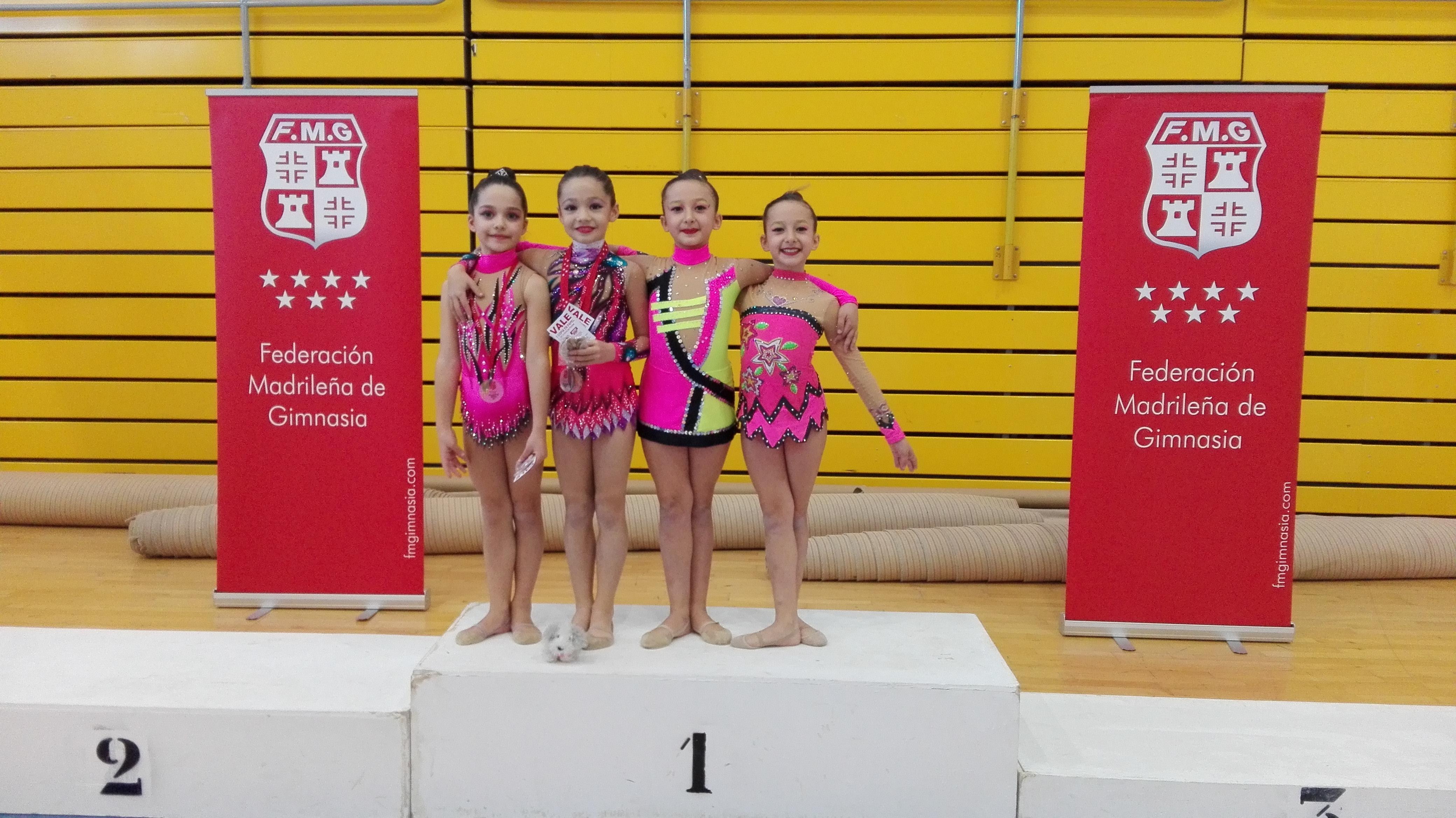 Las gimnastas velilleras obtienen muy buenos resultados en la segunda fase del Torneo Federación