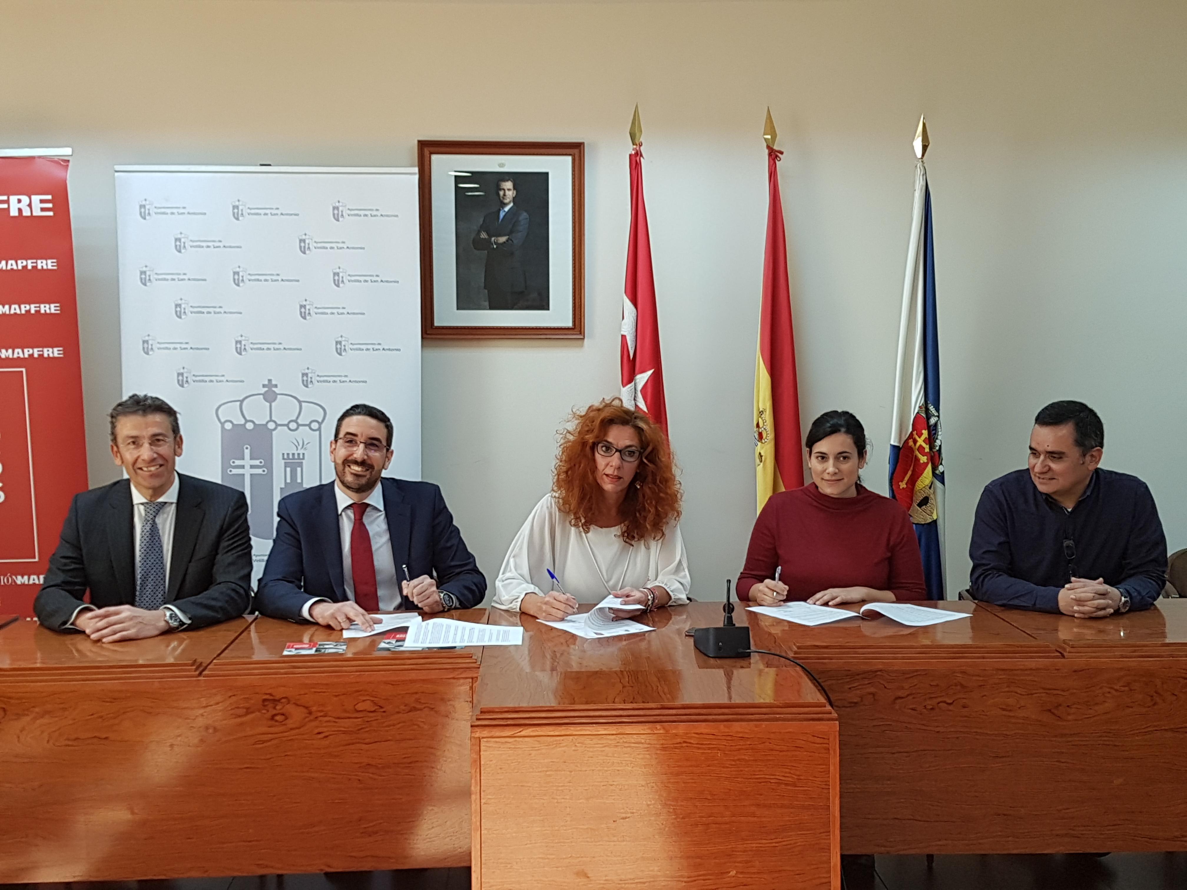 El Ayuntamiento de Velilla de San Antonio, comprometido con la integración de las personas con discapacidad