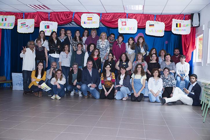 """El viernes 20 de abril se desarrolló la segunda jornada del Encuentro del Proyecto ERASMUS+ """"Arte por la convivencia"""""""