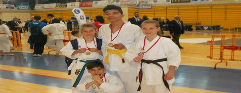 Éxito del karate velillero en el Campeonato Autonómico DEUCO