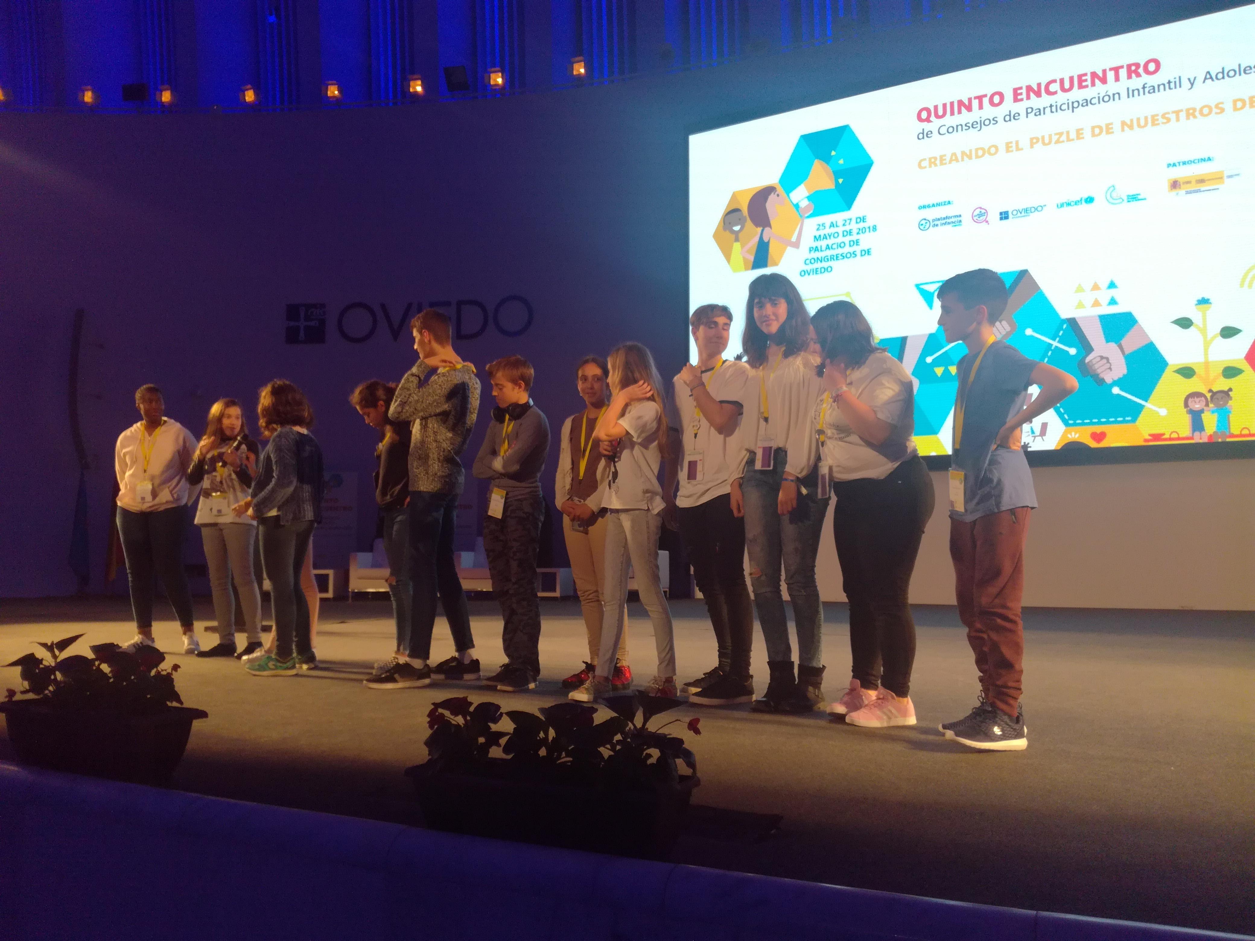 Los jóvenes de la Comisión de Participación de Velilla acudieron al V Encuentro de Consejos de Participación