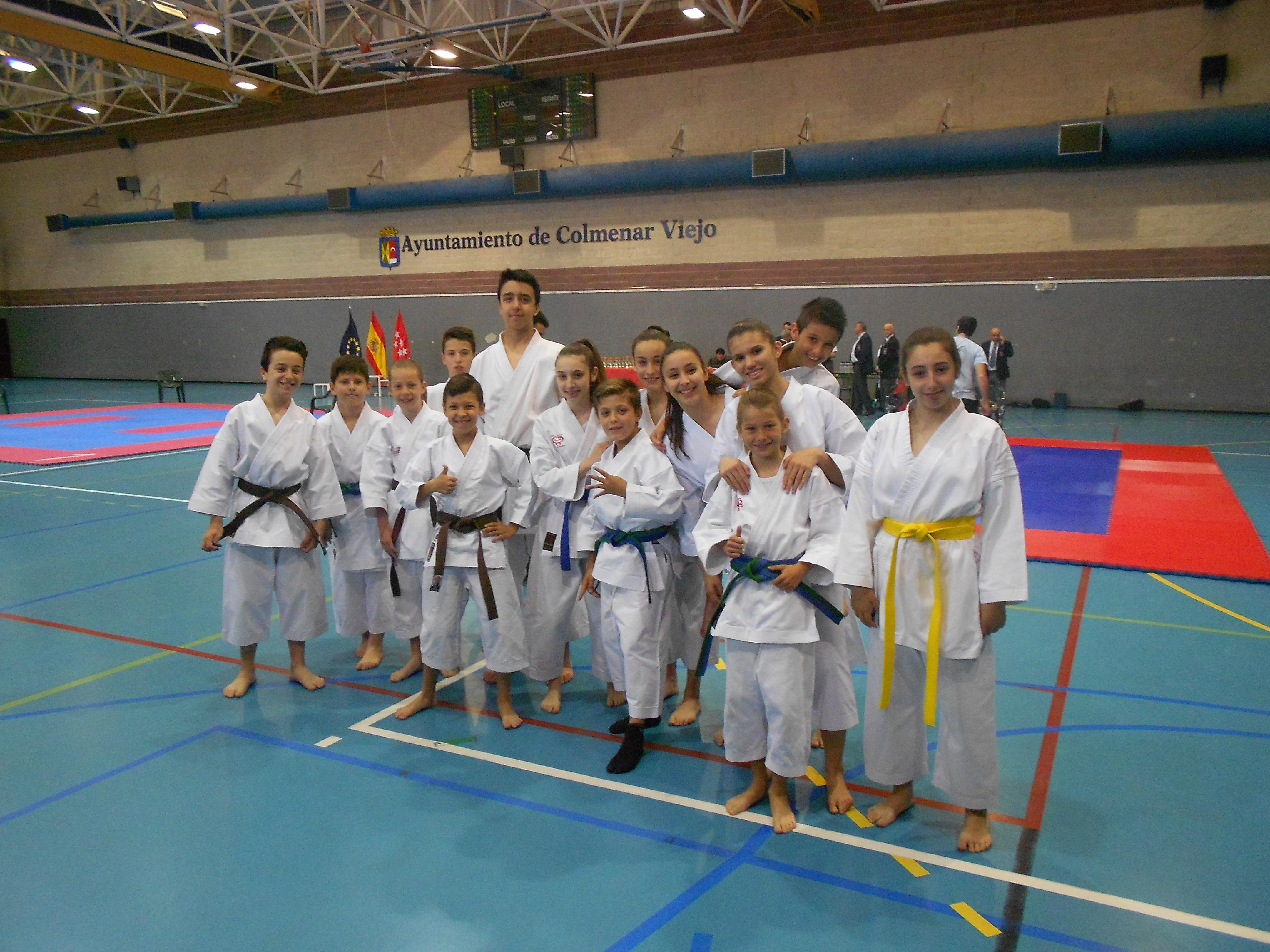 El pasado domingo 3 de junio se celebró el XIII Trofeo de Karate Villa de Colmenar Viejo
