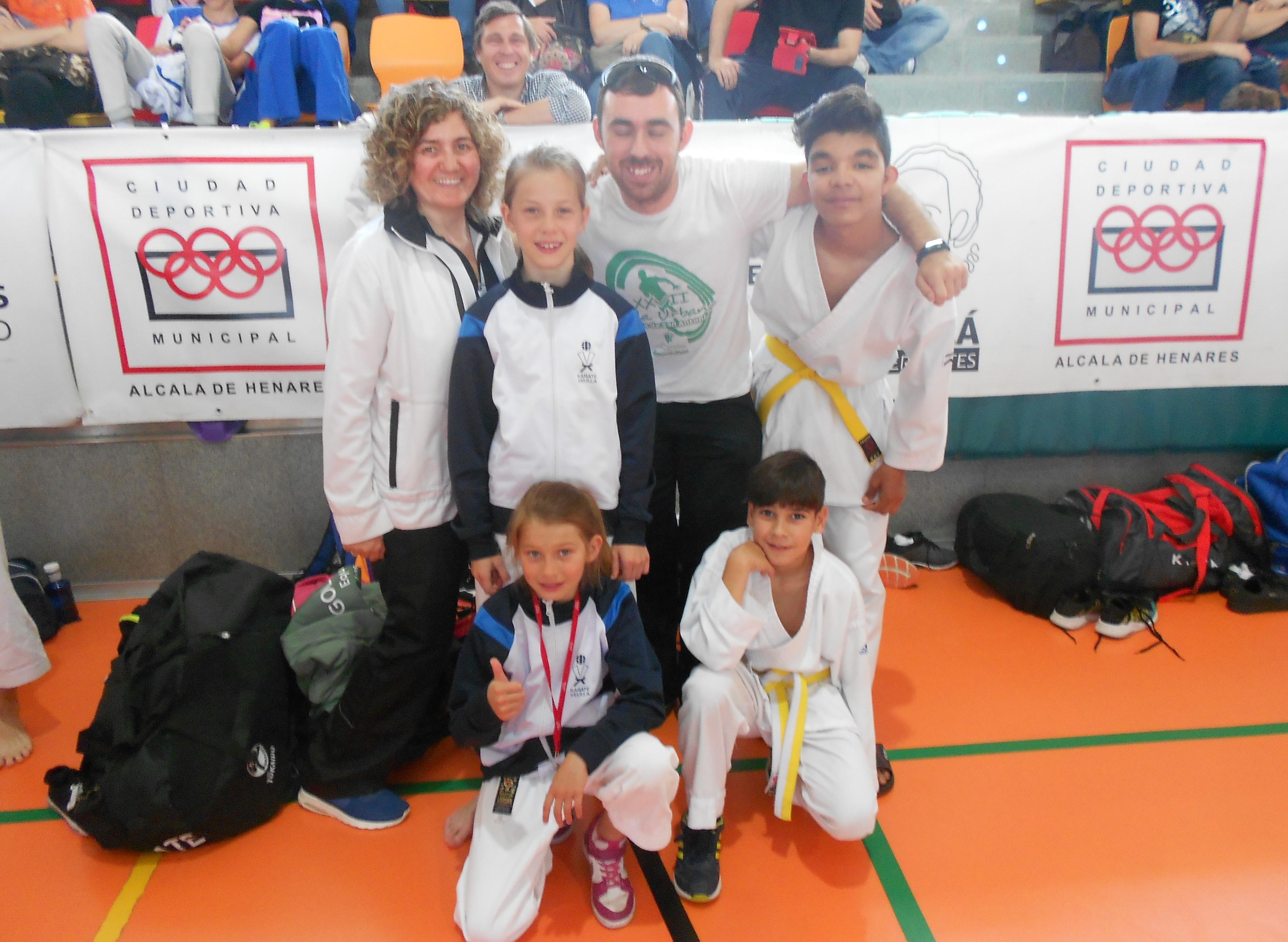 El karate velillero brilla en la final autonómica