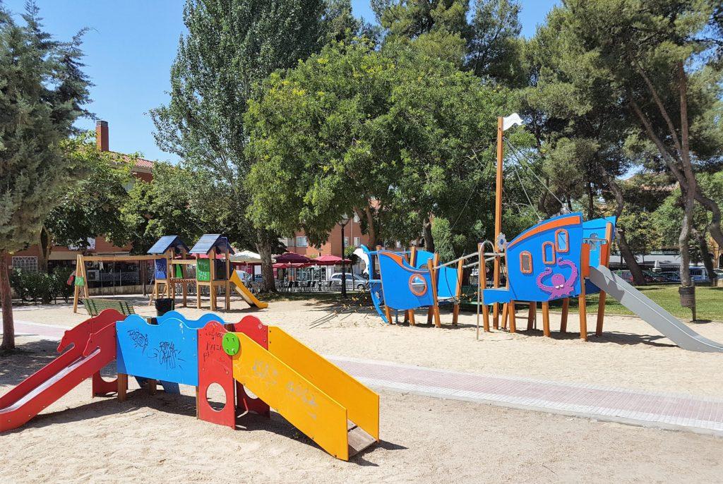 Nuevos Juegos Infantiles En El Parque Sur Ayuntamiento De Velilla