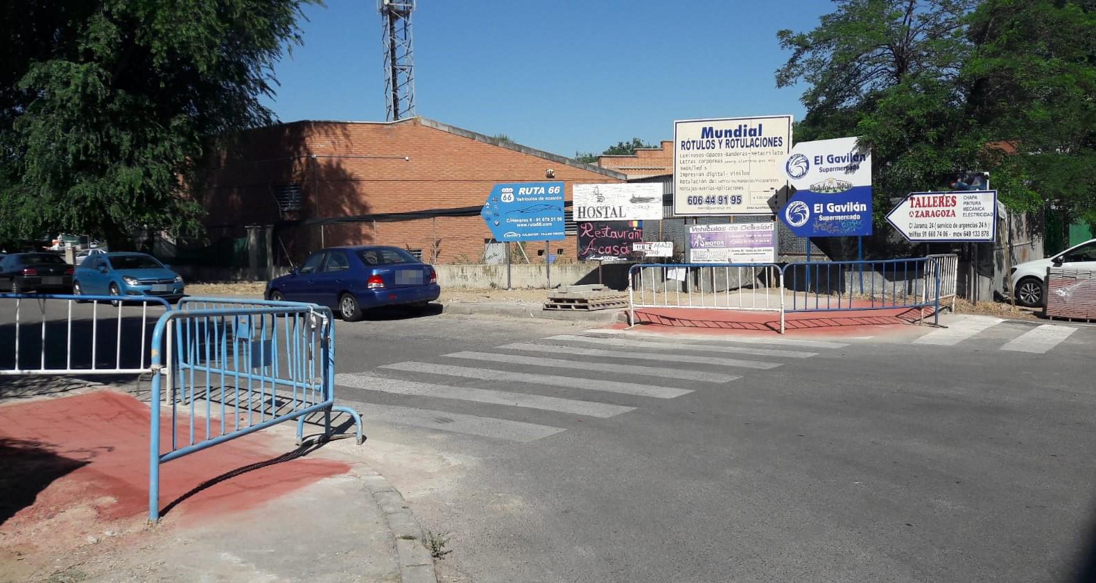 Continúan los trabajos para mejorar la accesibilidad en el municipio
