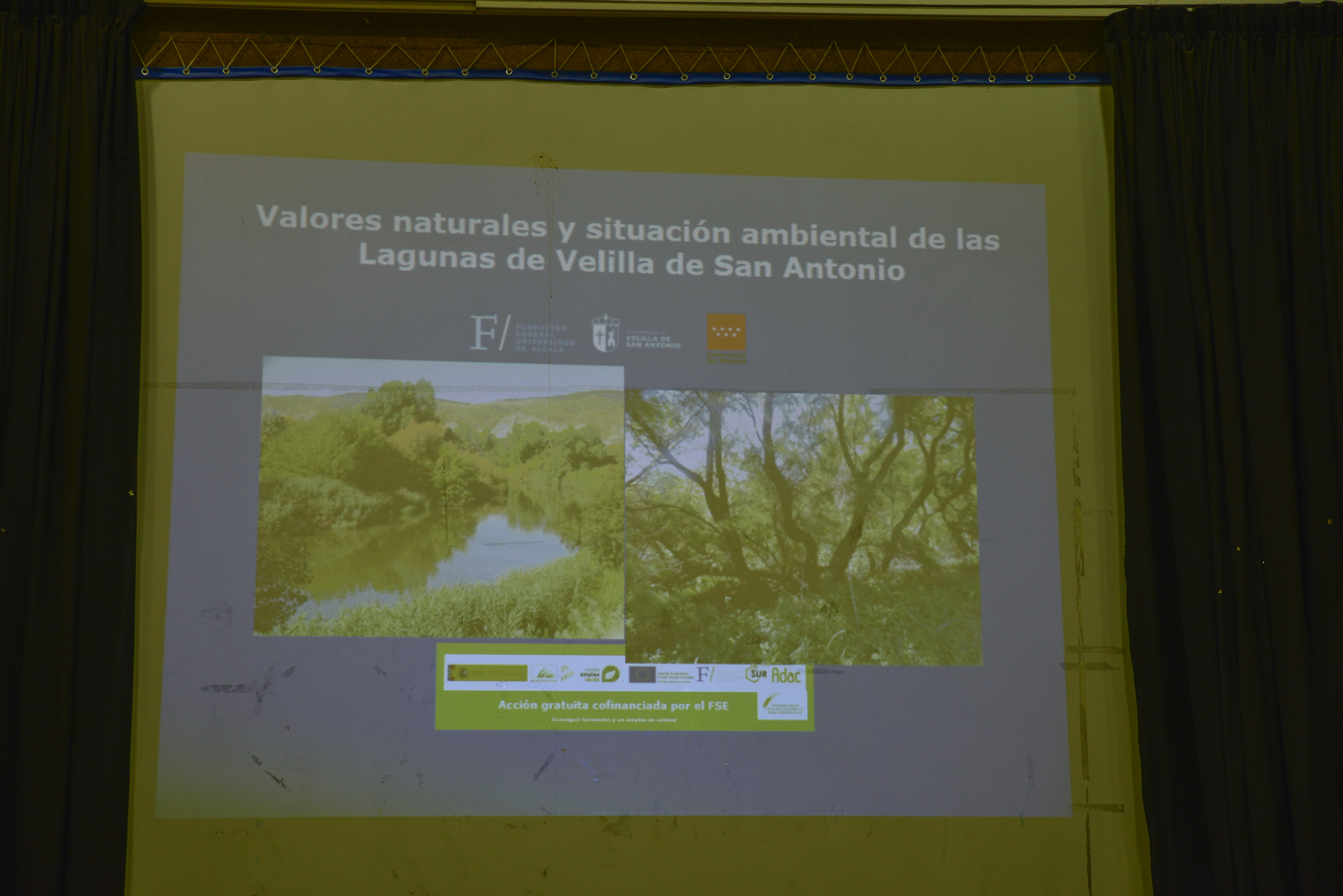 Presentación de las primeras conclusiones del estudio de las lagunas de Velilla