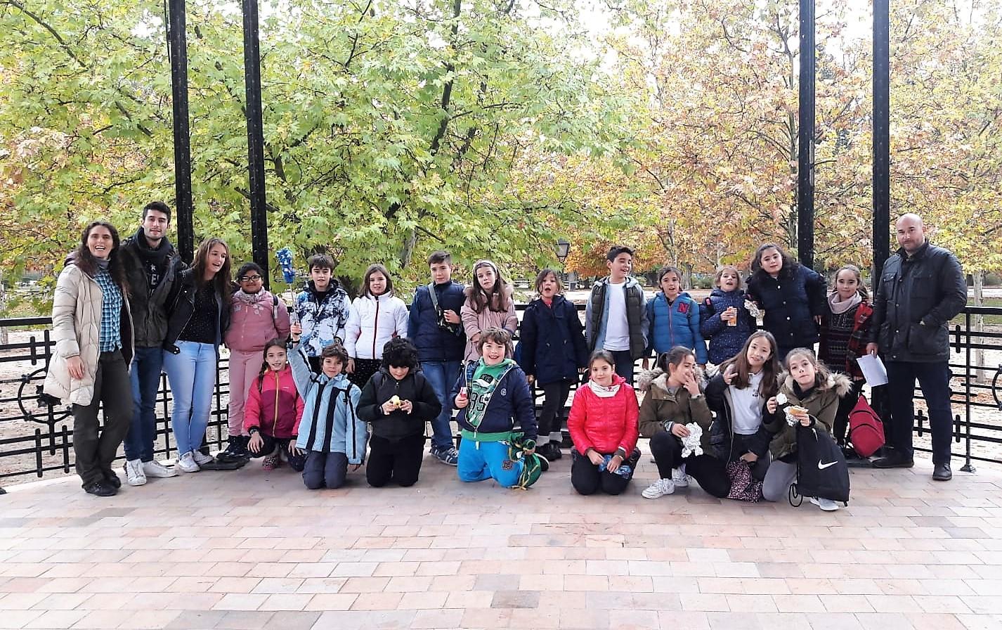 20 alumnos de los centros educativos de Velilla participaron en los talleres del programa MUSE en El Retiro