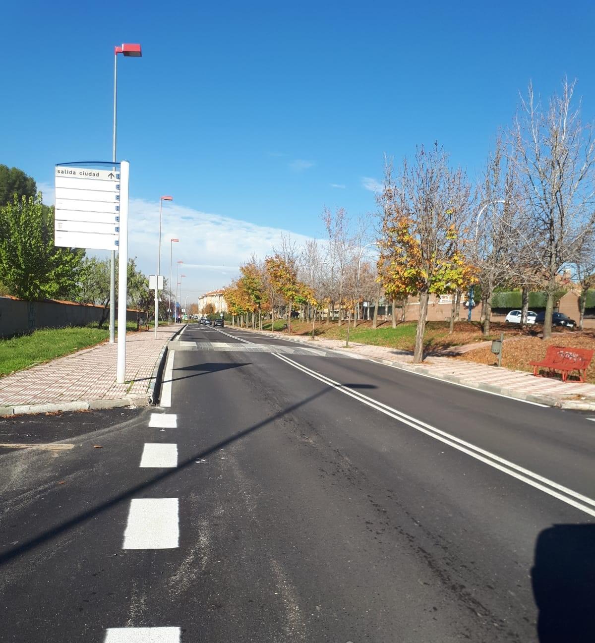 La primera fase de las obras de asfaltado a punto de concluir