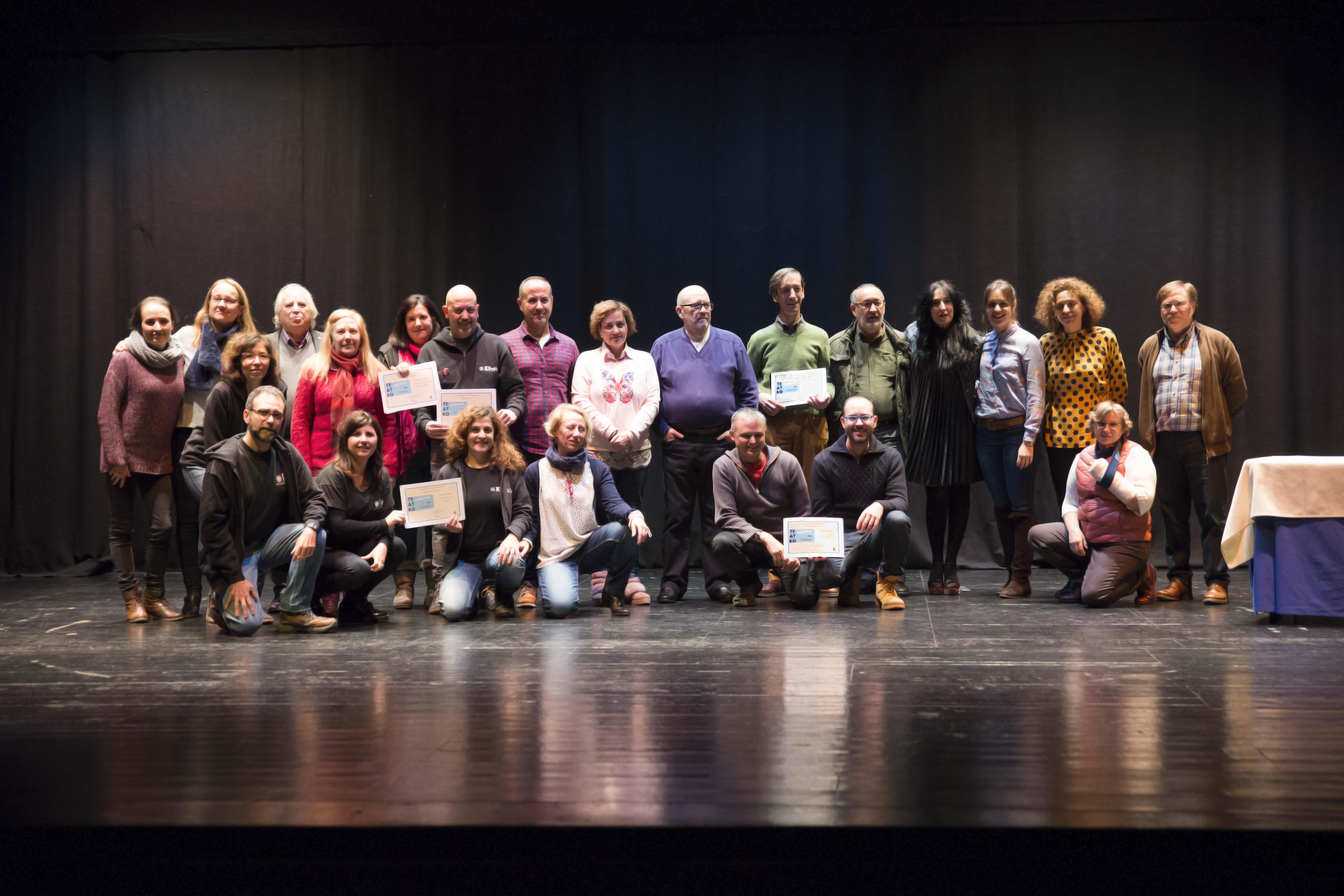 Entregados los premios del XVI Certamen de Teatro Aficionado Velilla de San Antonio