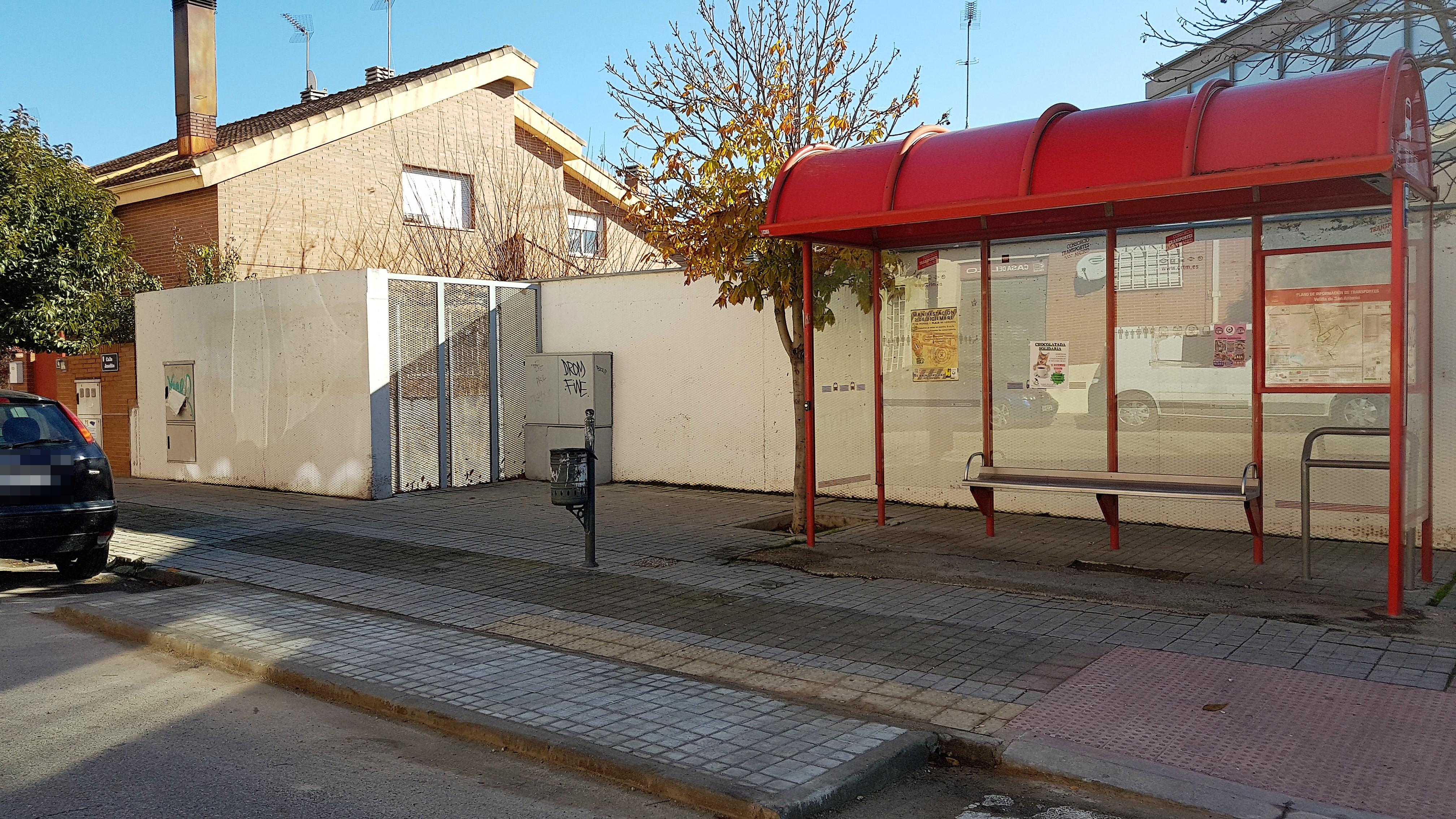 Paradas de autobús más accesibles en Velilla