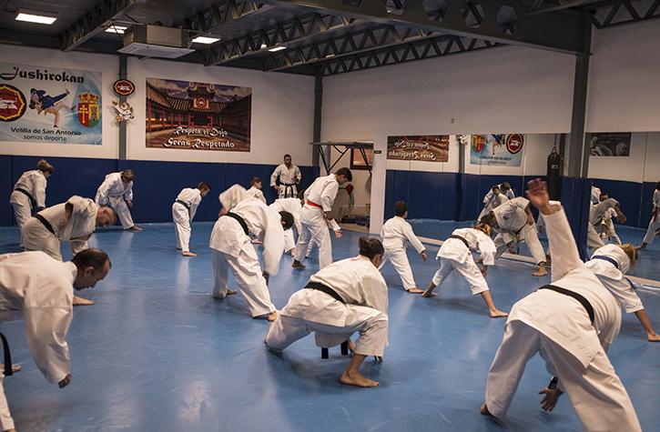2018 Festival master class karate Navidad