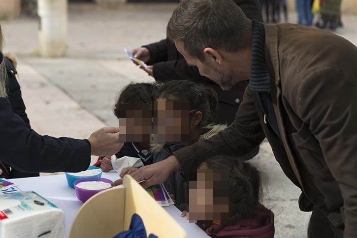 Los niños/as toman la calle