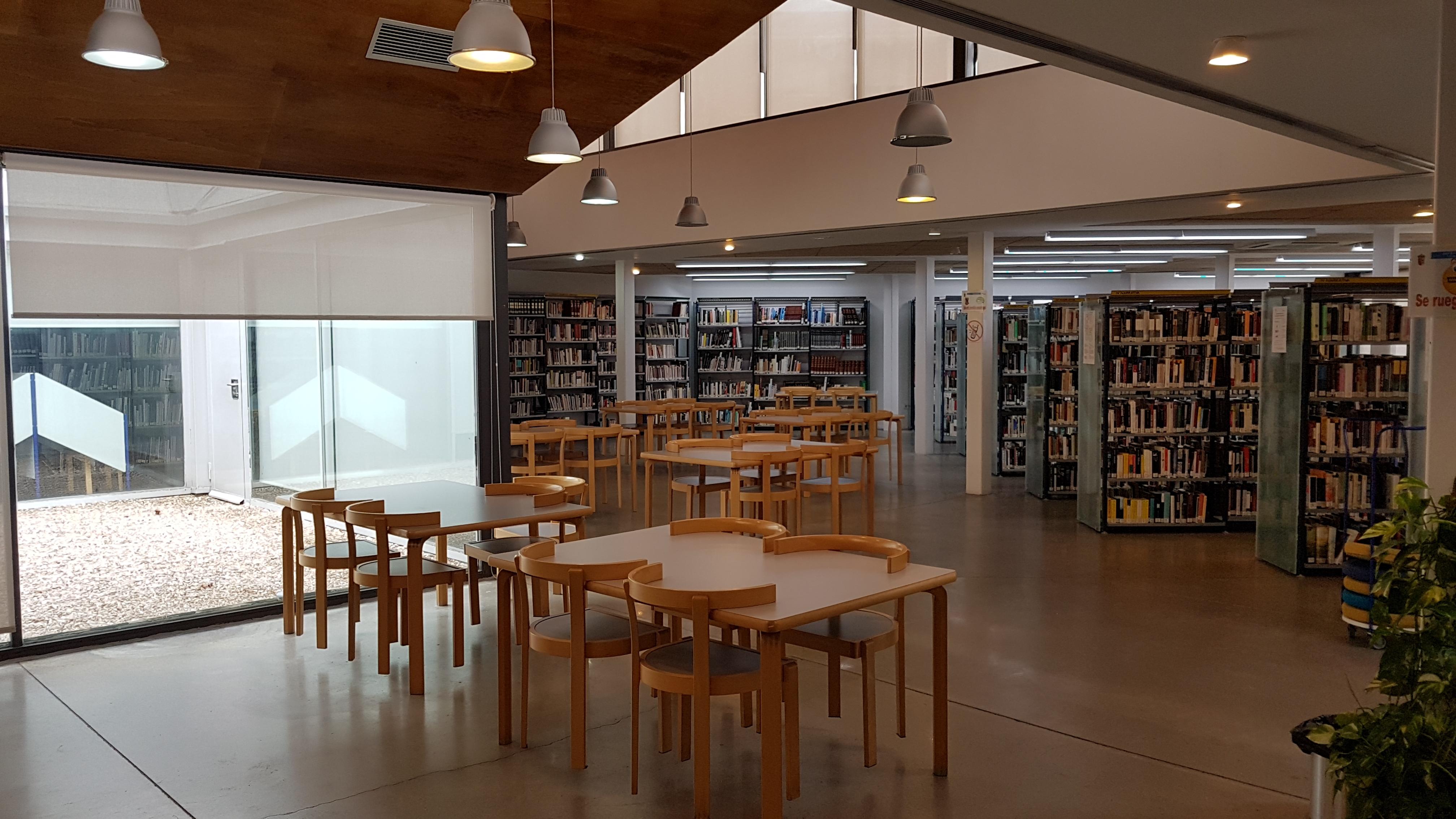 La Biblioteca Municipal María Moliner permanecerá cerrada desde esta tarde