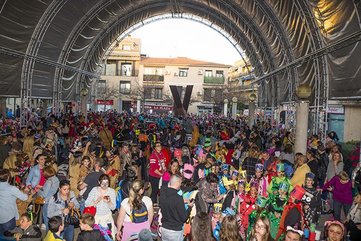 Velilla bailó este pasado fin de semana al ritmo de Carnaval