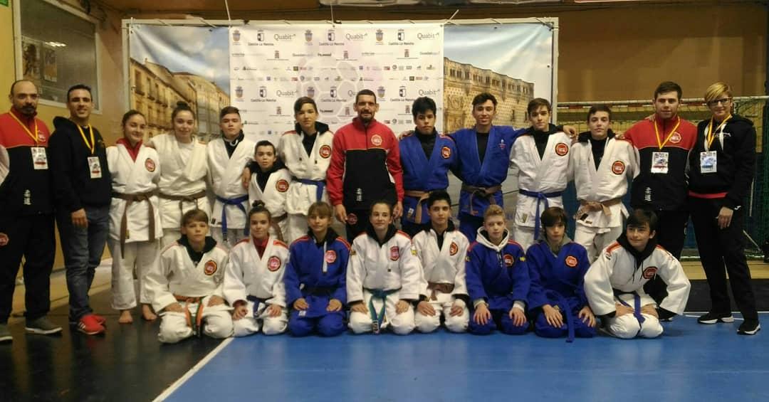 La Escuela Municipal de Judo se clasifica para el Campeonato de España