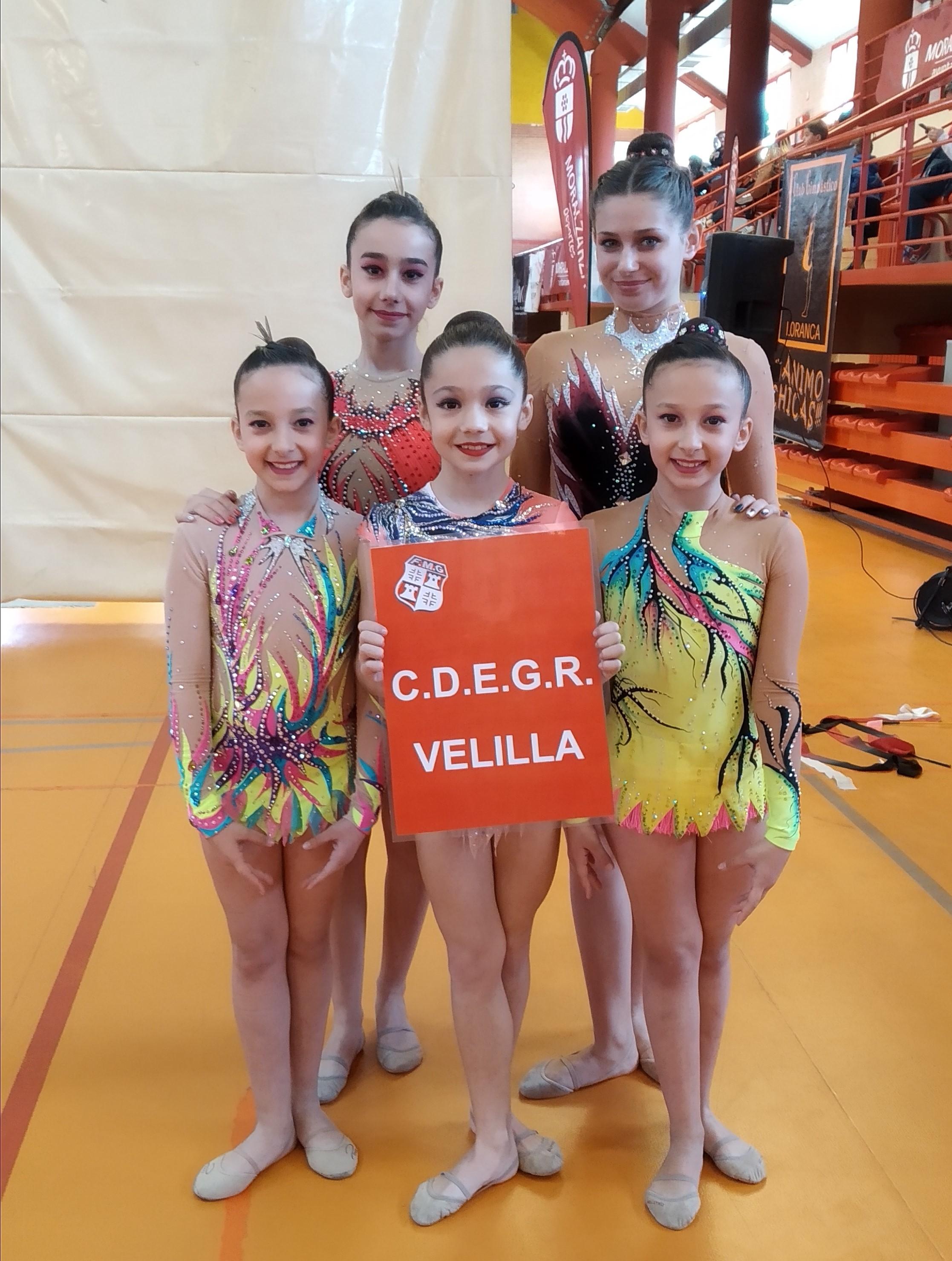 Las nueve gimnastas representantes del CGR Velilla se clasifican para el Campeonato de España