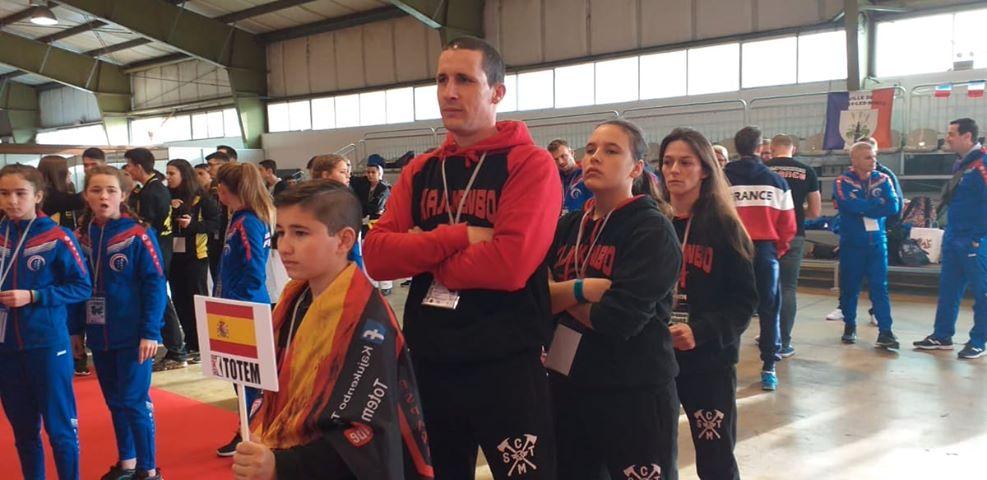 La escuela Tótem de Kajukenbo regresa de Portugal con unos excelentes resultados