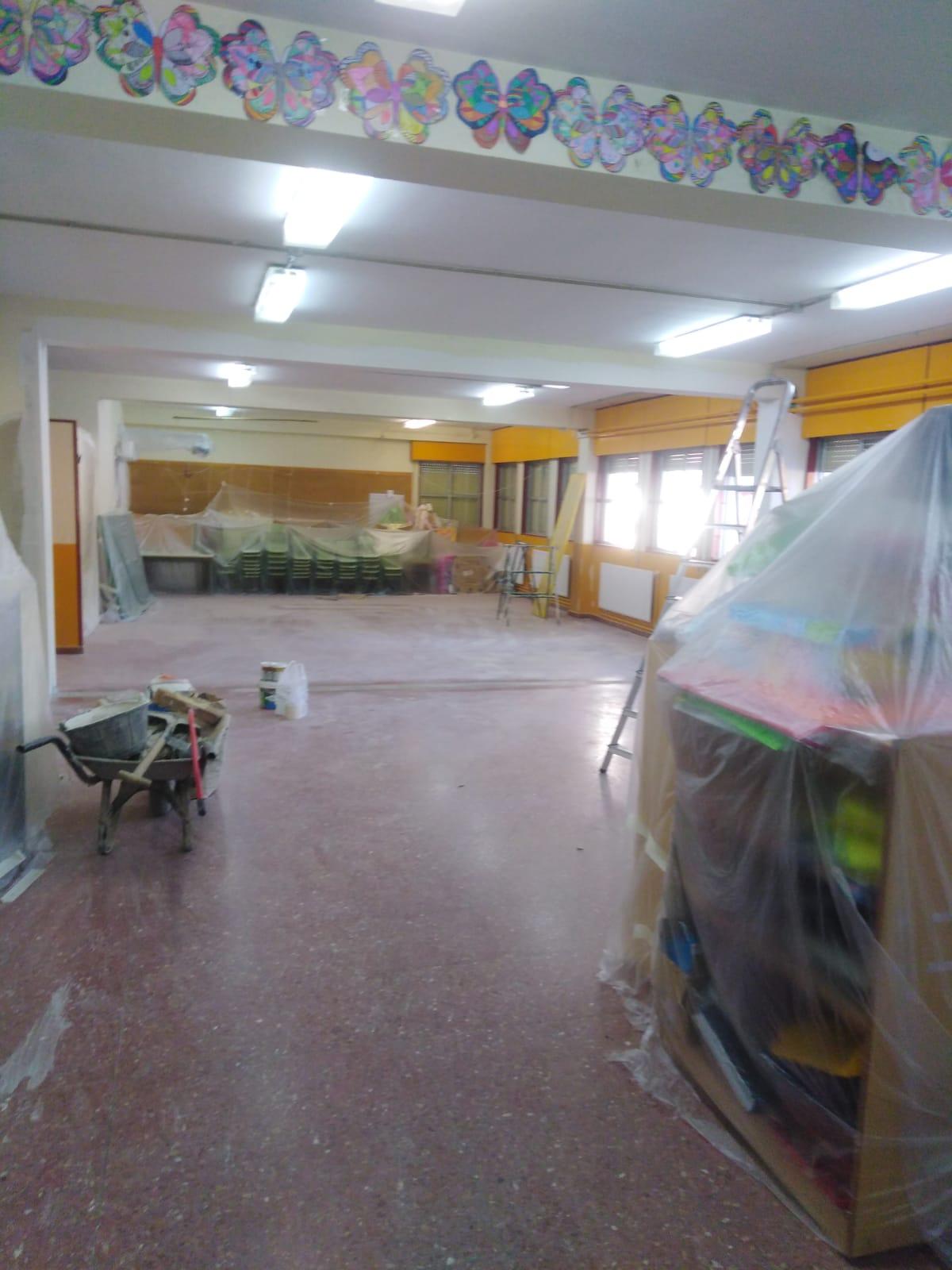 Obras de mejora en los centros educativos