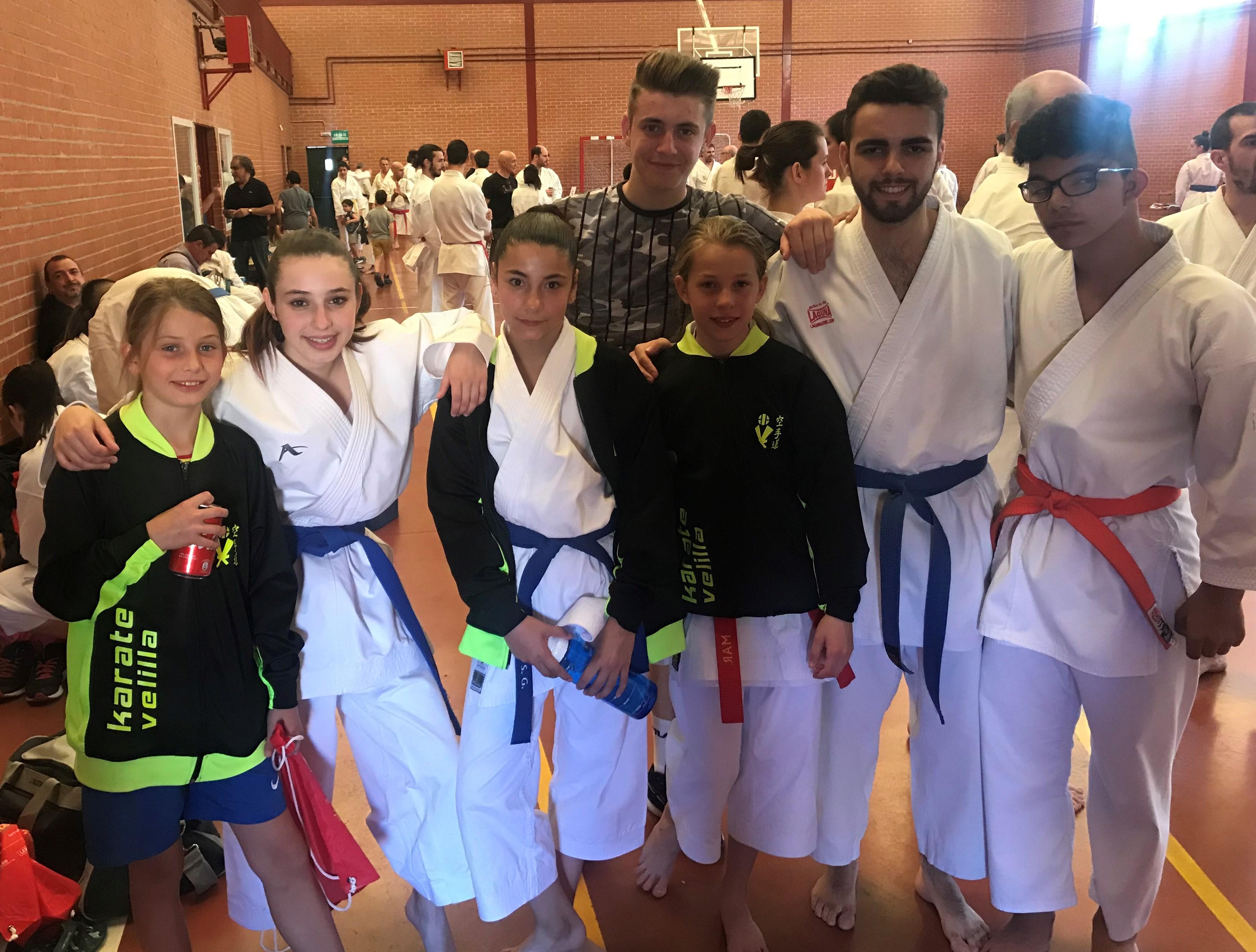 El karate velillero brilló en el Trofeo San Isidro