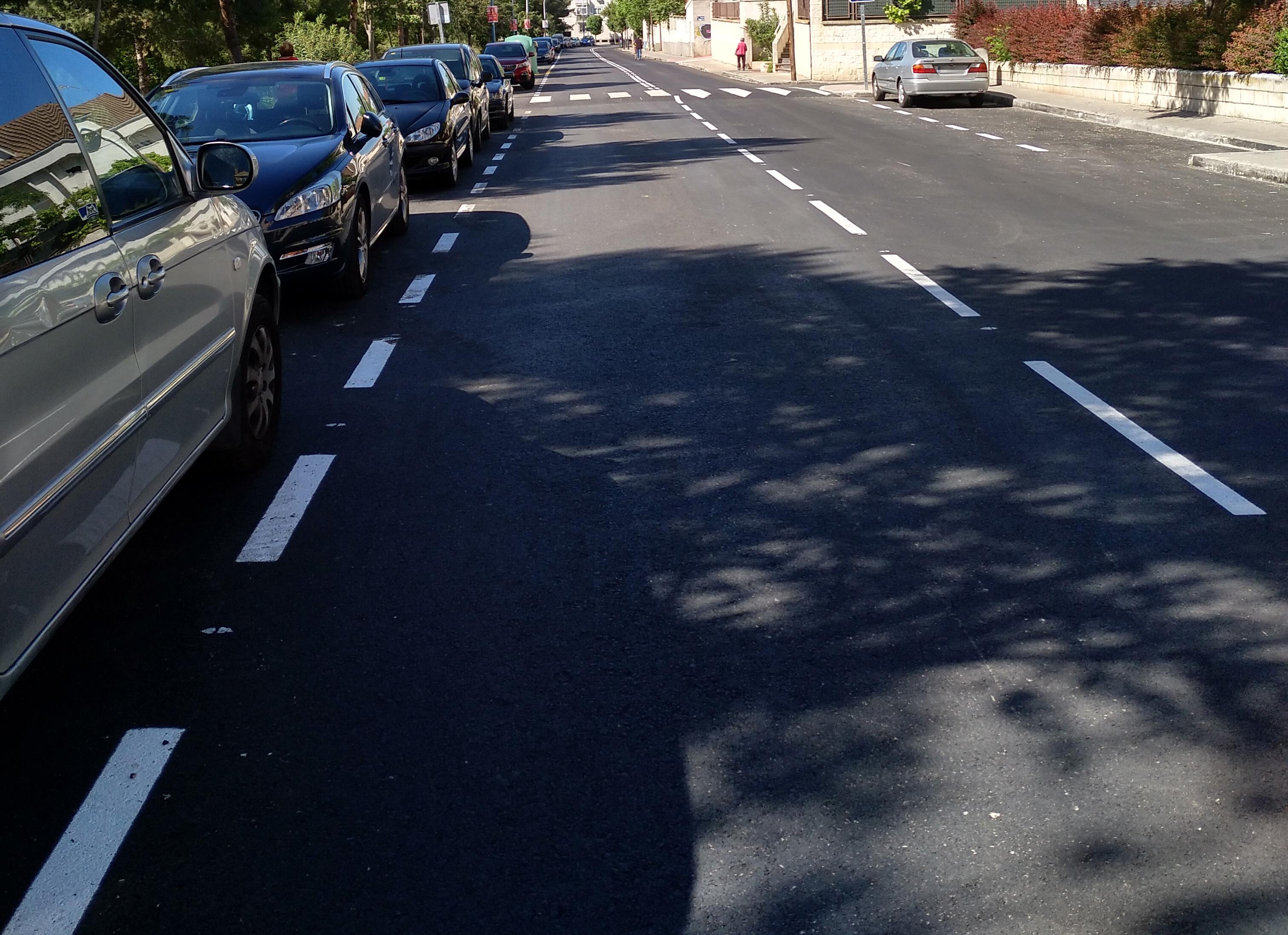 Este jueves continuarán los trabajos de la segunda fase del plan de asfaltado municipal