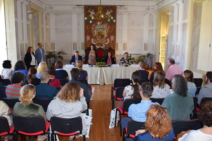 Velilla participó en el encuentro del programa Erasmus+ Arte por la Convivencia que se celebró en Évora