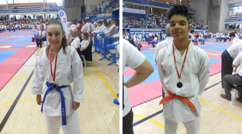 El karate velillero logra dos trofeos en la fase final del campeonato DEUKO