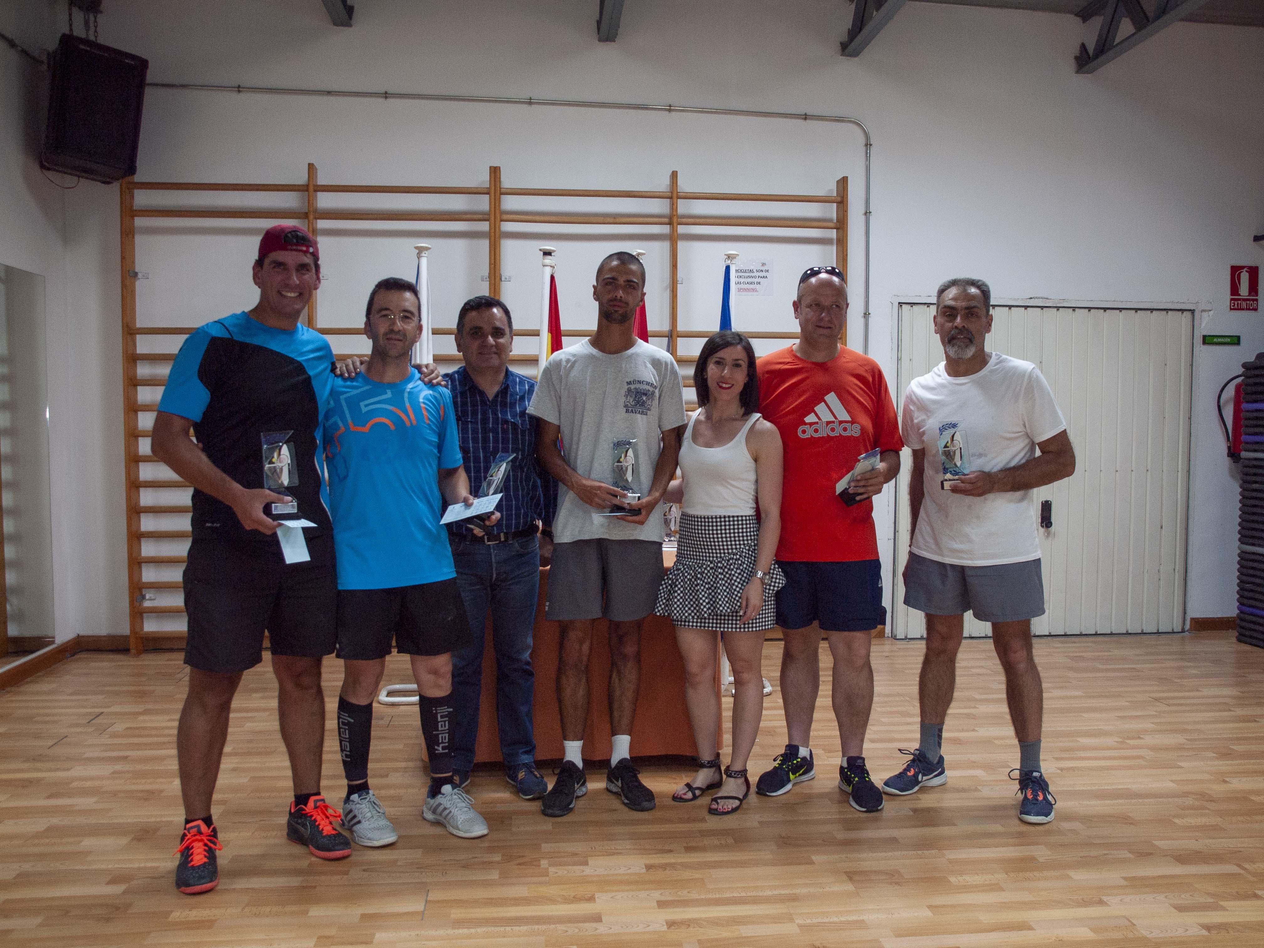 Final y entrega de trofeos del Campeonato de Primavera del Ranking de Tenis
