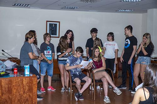 Las Comisiones de Participación Infantil y de Adolescencia celebraron el foro de cierre de curso