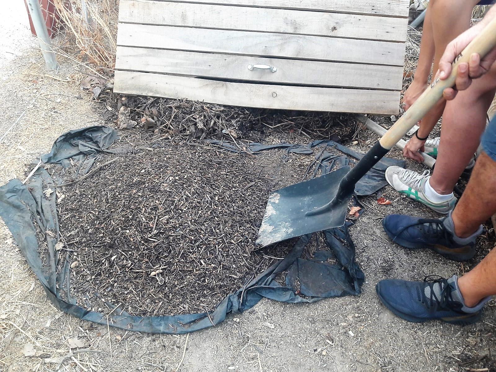 Los participantes en el programa Residuos Cero han obtenido su segunda cosecha de compost