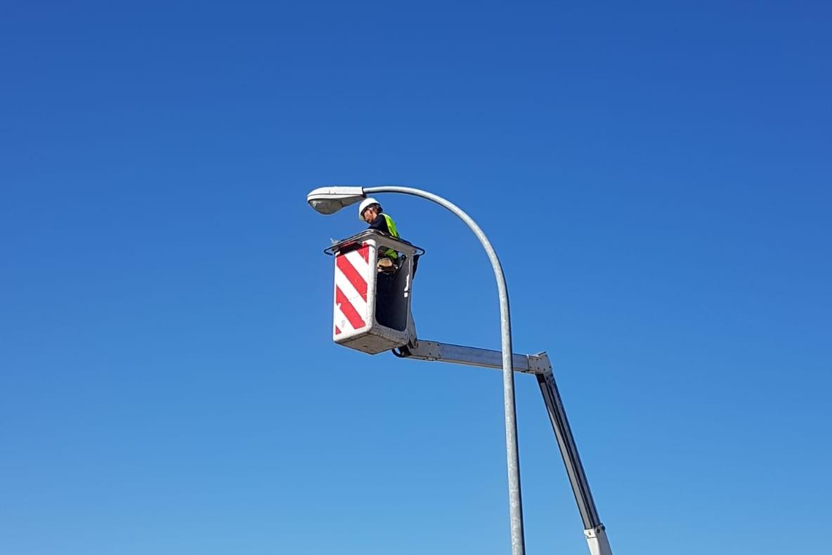 Velilla contará a finales de año con alumbrado público de tecnología LED en todo el municipio