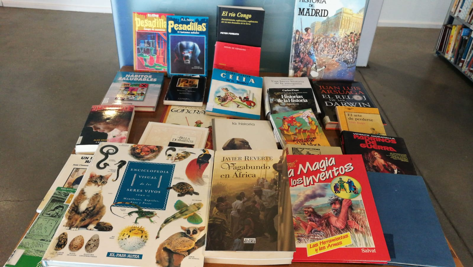 """Vuelta al cole"" en tu biblioteca"