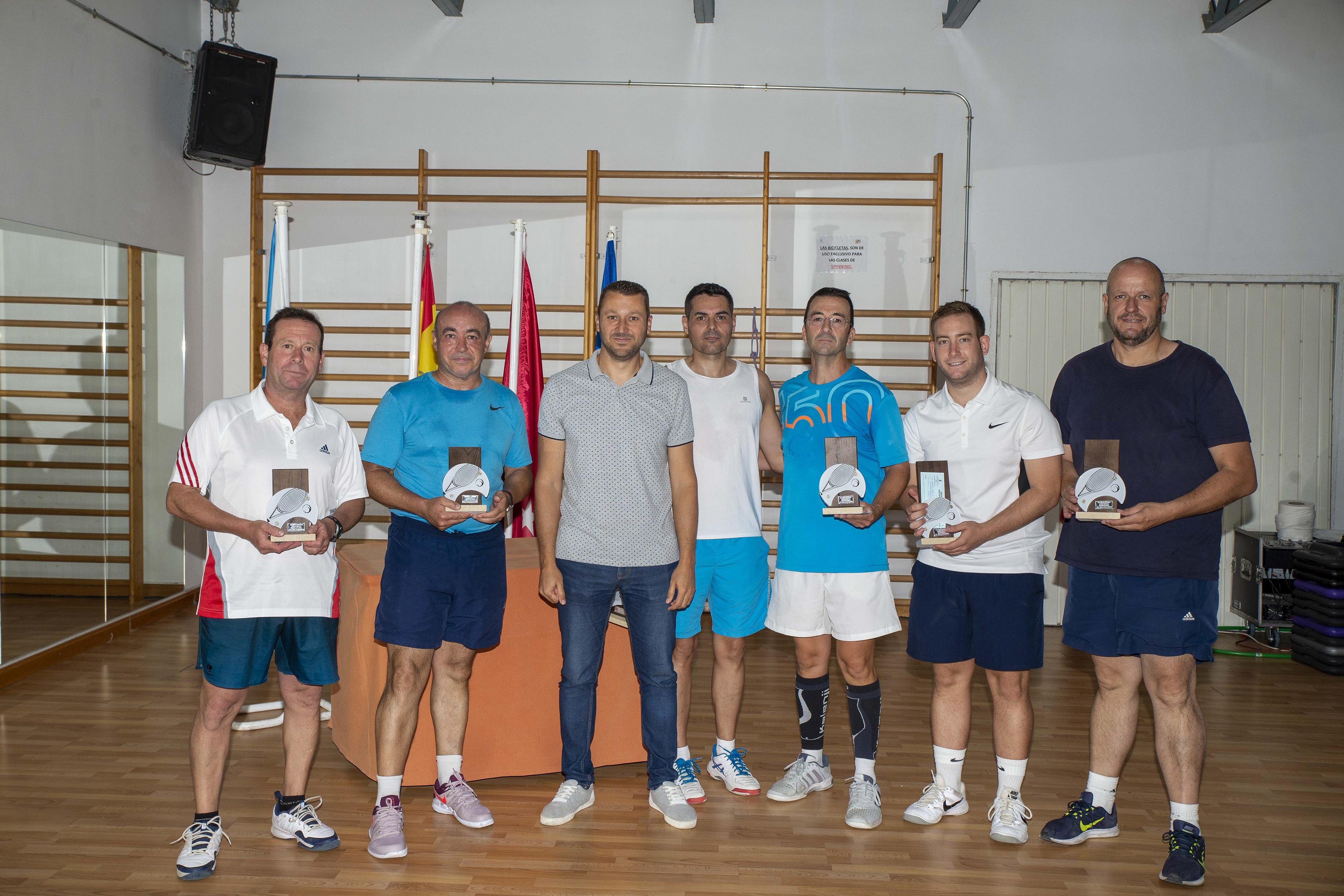 Resultados del Campeonato de Fiestas Ranking de Tenis