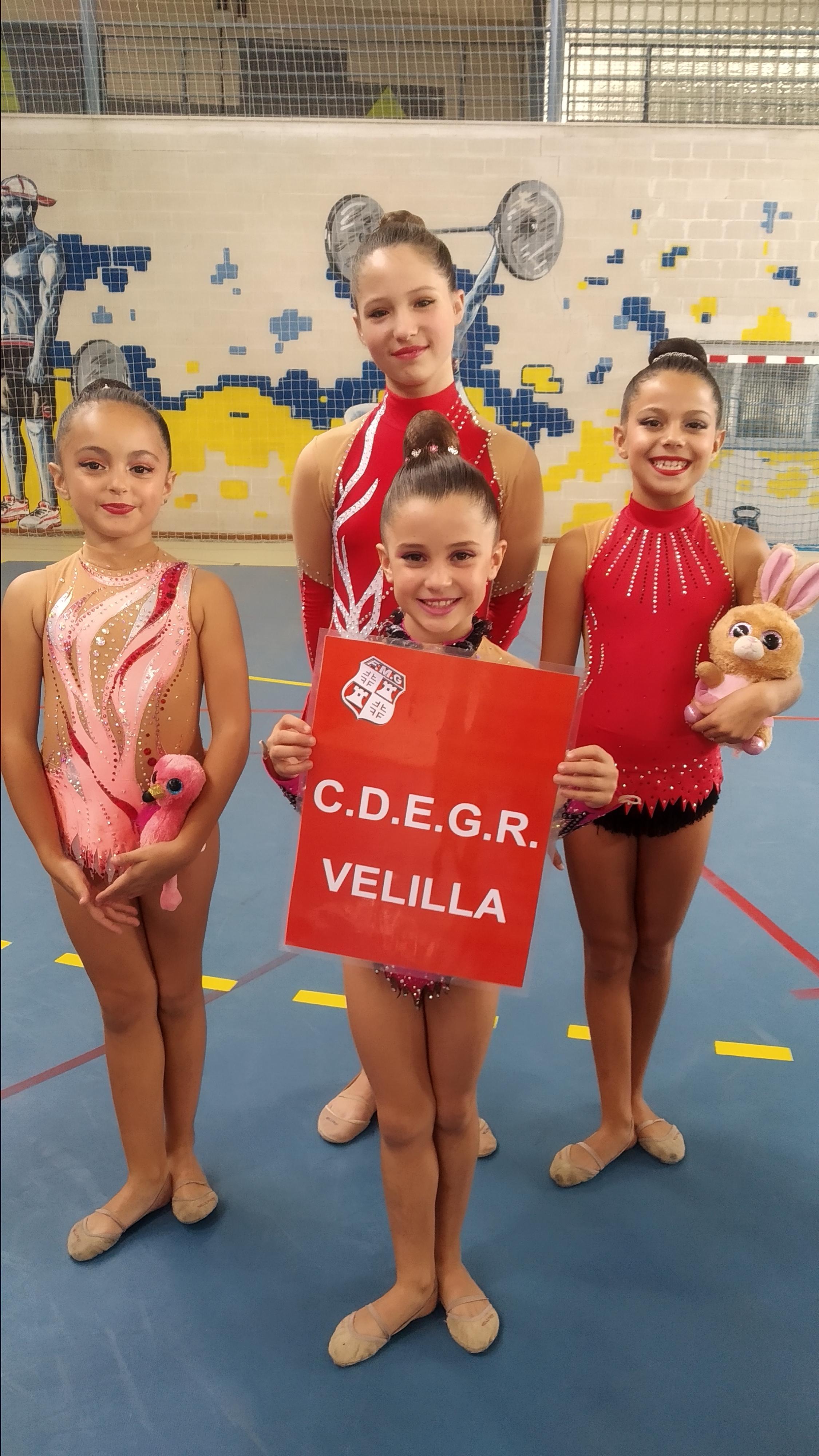 El Club Gimnasia Rítmica consigue dos medallas y un cuarto puesto en la segunda fase del Torneo de Federación de la Comunidad de Madrid