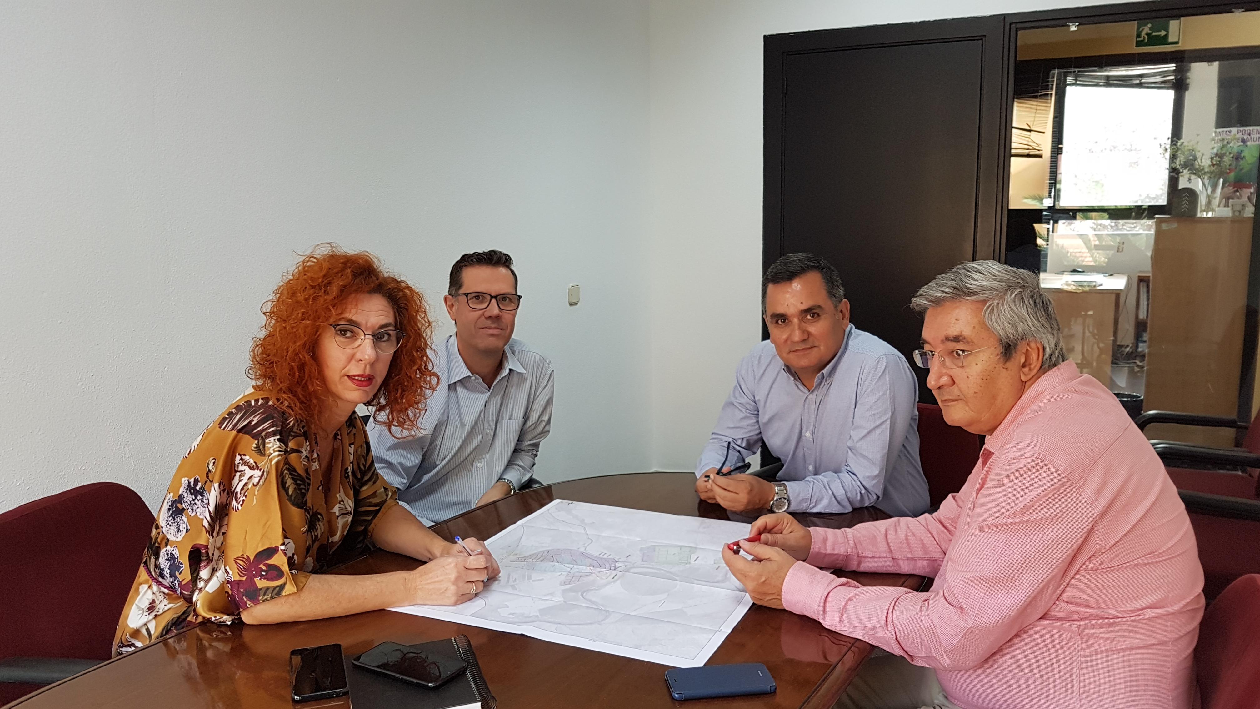 El Ayuntamiento y el Canal de Isabel II se reunieron para plantear soluciones a las inundaciones provocadas por las fuertes lluvias del mes de septiembre
