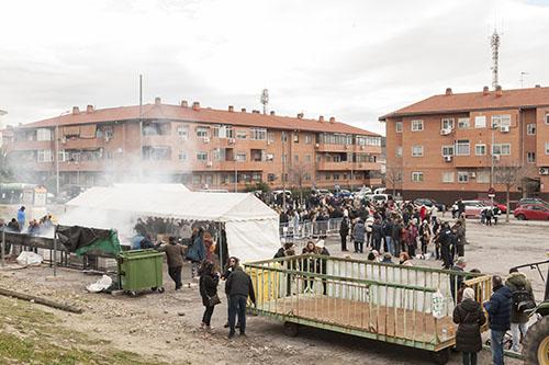 Ayer se celebró en Velilla la tradicional Fiesta Solidaria de la Pitanza
