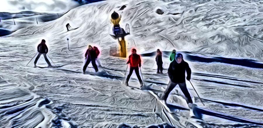 La Casa de la Juventud organizó un viaje de esquí y snow al Pirineo Aragonés