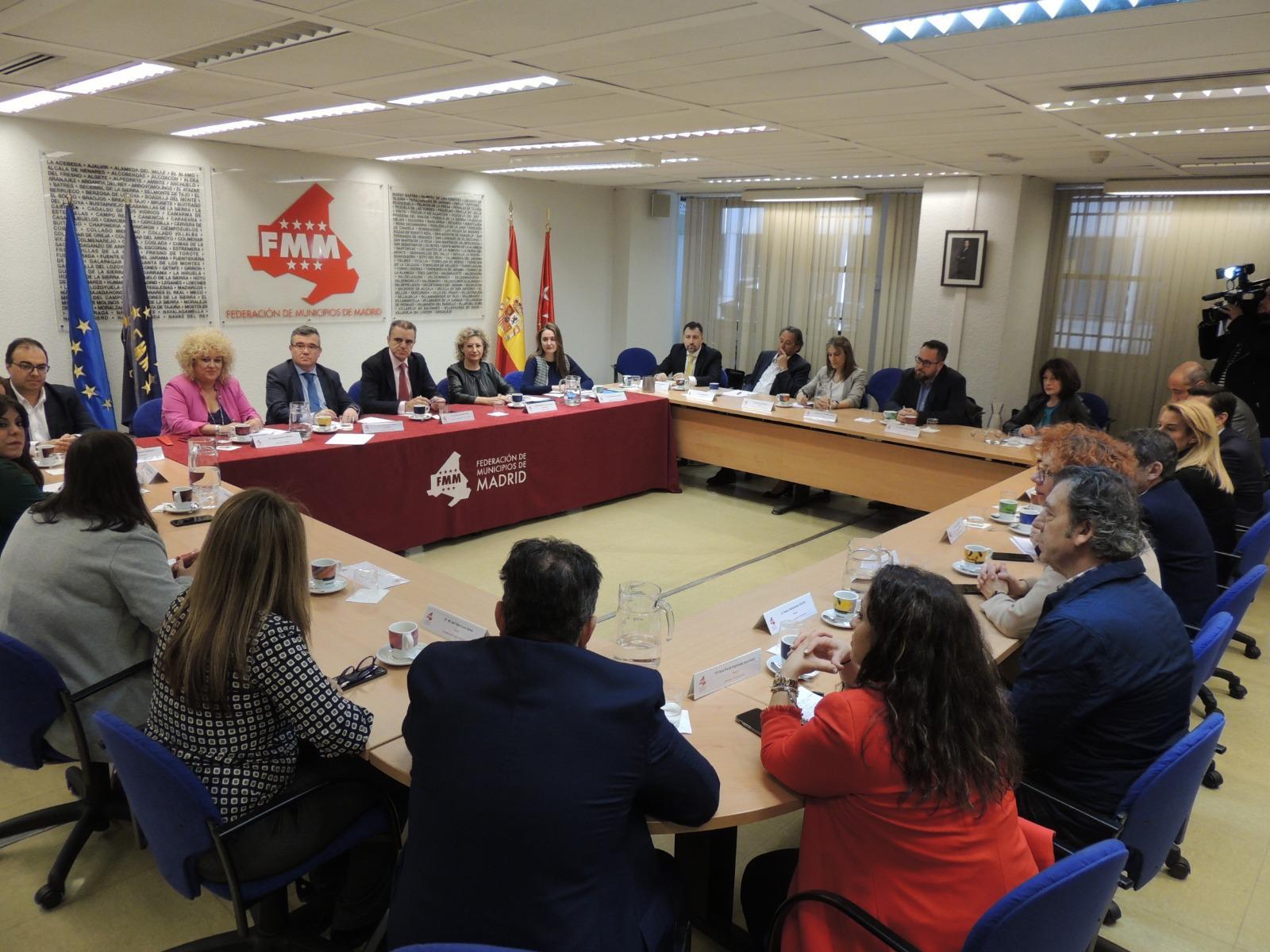 La Alcaldesa ha participado en la reunión de la FMM con el Delegado de Gobierno
