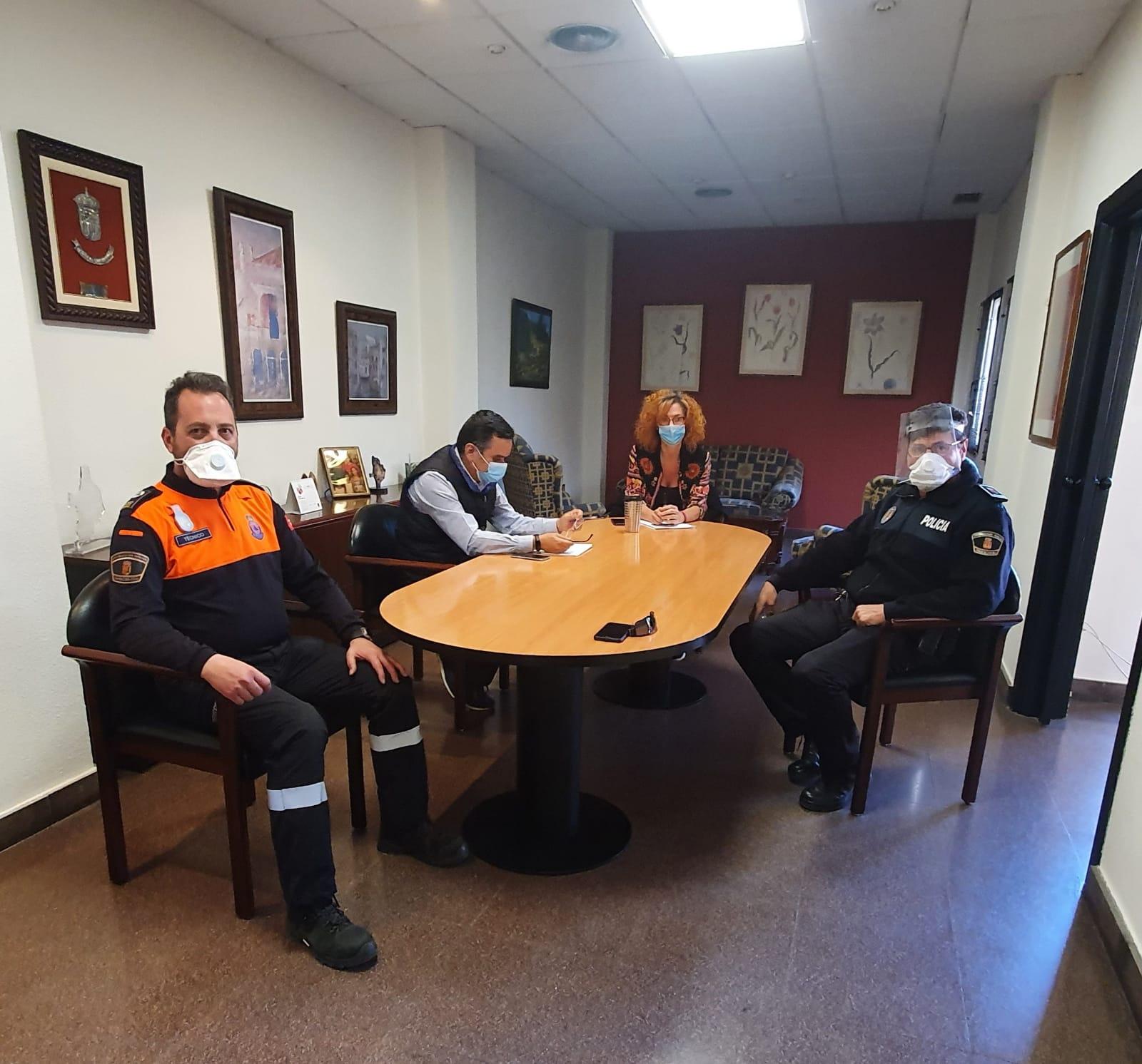 La Mesa de Coordinación y Prevención del Ayuntamiento evaluó entre otros puntos la salida de los niños y niñas a la calle