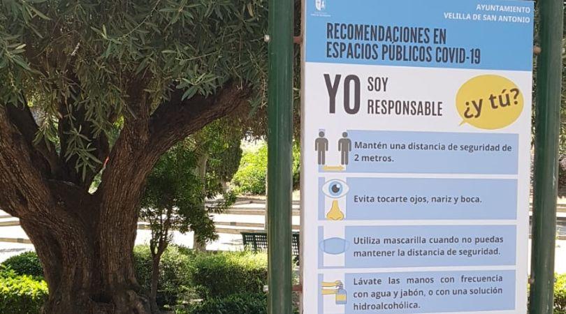 El Ayuntamiento reabre los parques infantiles de Velilla