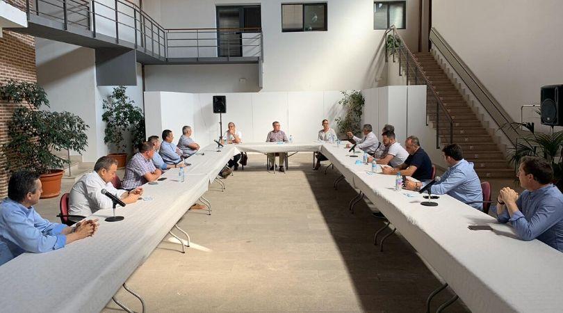 Reunión de Alcaldes y Concejales sobre la celebración de las Fiestas Patronales