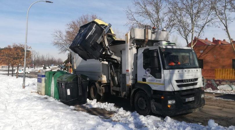 El miércoles se restableció completamente el servicio municipal de recogida de basuras