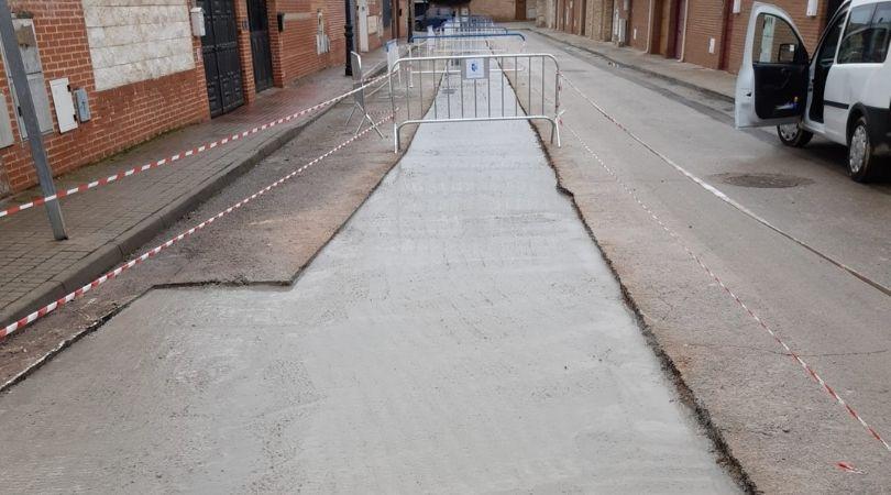 Seguimos avanzando en la reparación del asfaltado tras el paso de Filomena