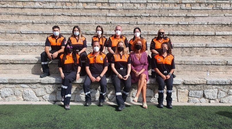 Diez nuevos voluntarios de Protección Civil Velilla finalizan el curso de formación básica