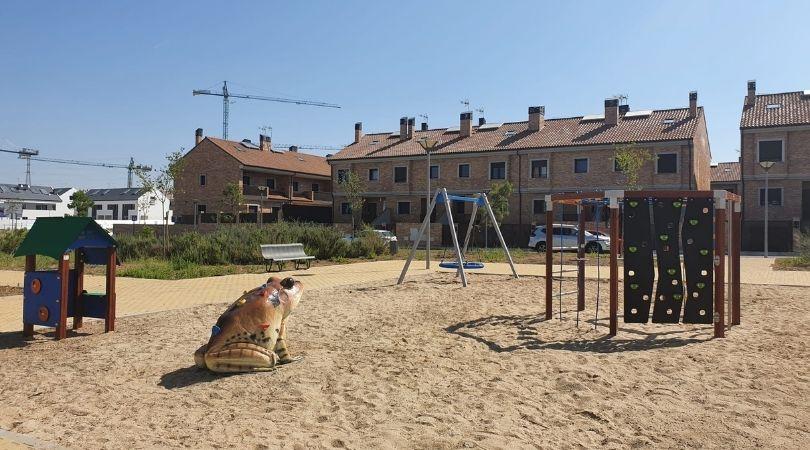 El sector XXIII cuenta desde hoy con un nuevo parque infantil